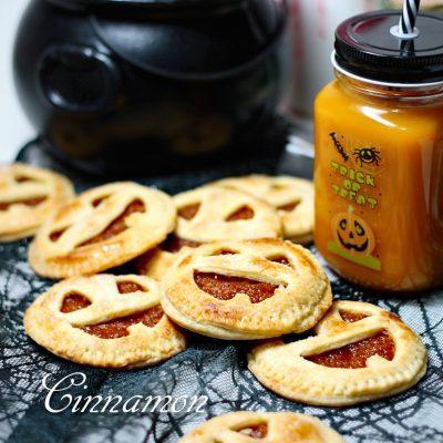 Сладкое печенье с тыквой «Джек-фонарь» - рецепт с фото
