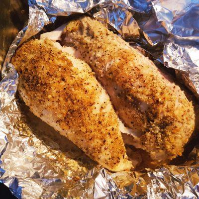 Куриное филе, запеченное со специями - рецепт с фото