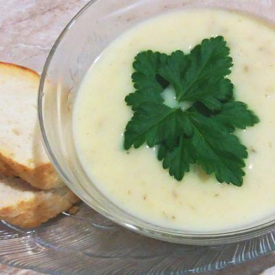Сырный суп-пюре с грибами - рецепт с фото