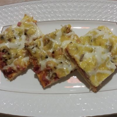 Быстрая пицца «Привереда» - рецепт с фото
