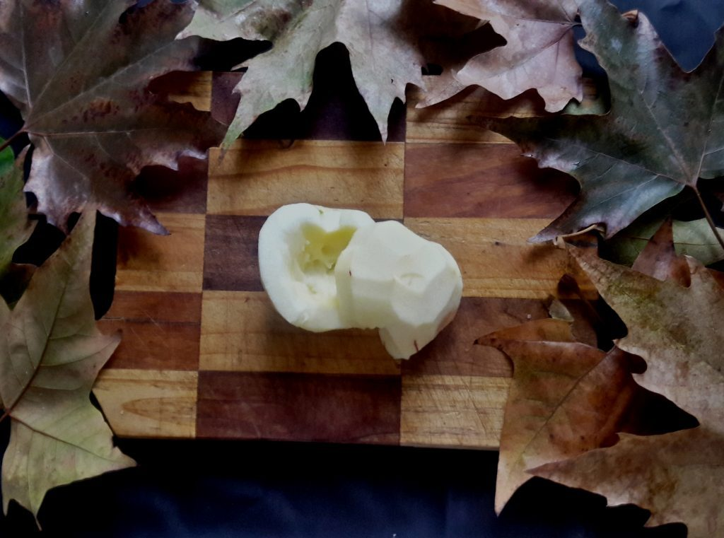 Фото рецепта - Печеные яблоки «паучок» - шаг 2