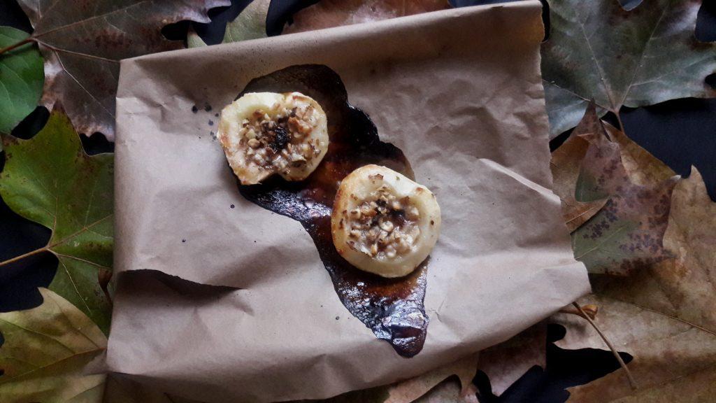Фото рецепта - Печеные яблоки «паучок» - шаг 4