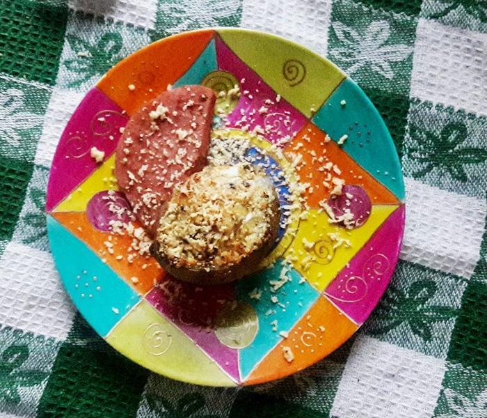 Яичница в картофеле по-селянски