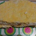 Фото рецепта - Салат из пекинской капусты с яичным блином и сухариками - шаг 2
