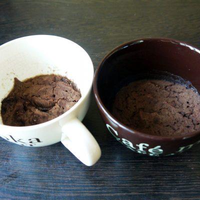 ПП-фруктовый Брауни в микроволновке - рецепт с фото