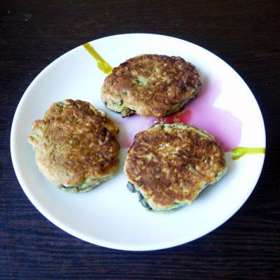 Оладьи с авокадо - рецепт с фото