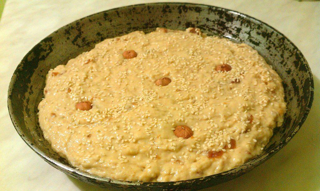 Фото рецепта - Пирог «Чертёнок» с яблочным вареньем - шаг 5