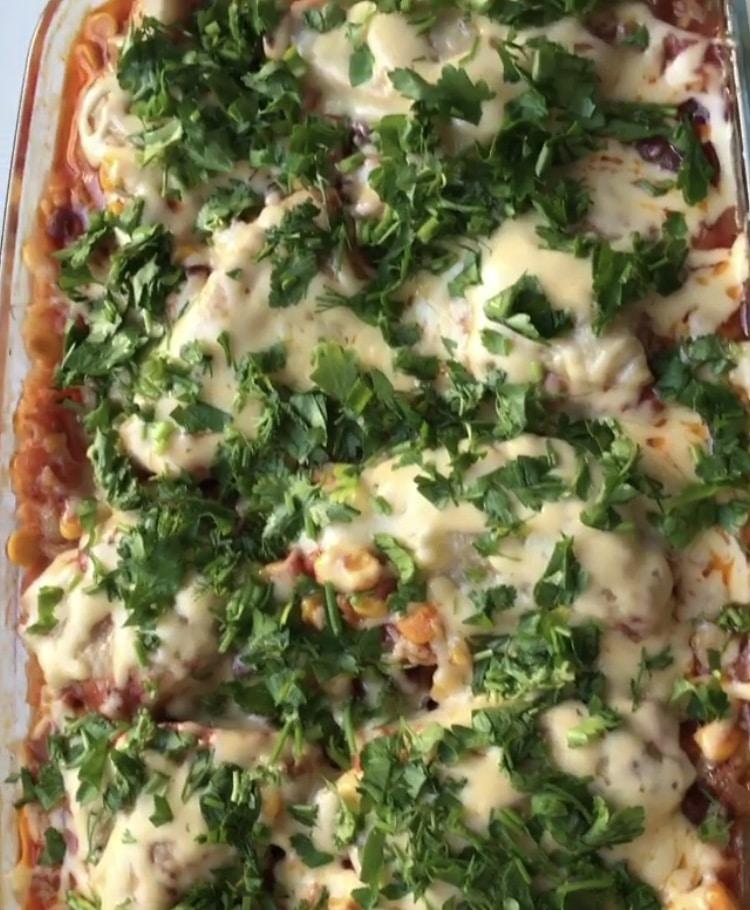 Фото рецепта - Испанская лазанья - шаг 6