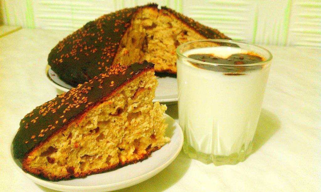 Фото рецепта - Пирог «Чертёнок» с яблочным вареньем - шаг 7