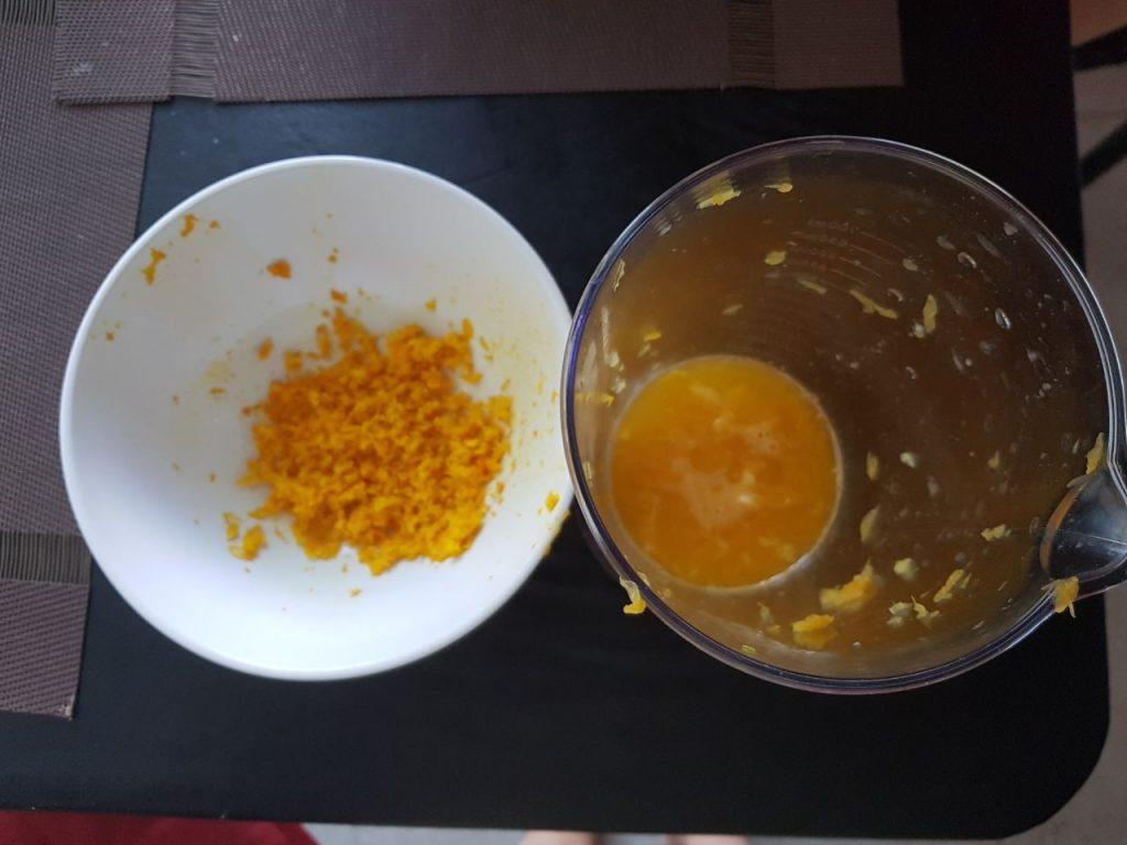 Фото рецепта - Апельсиновый пирог - шаг 1