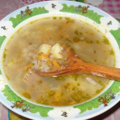 Гречневый суп на говядине, с предварительной обжаркой крупы - рецепт с фото