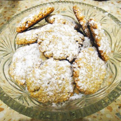 Овсяное печенье из овсянки быстрого приготовления - рецепт с фото