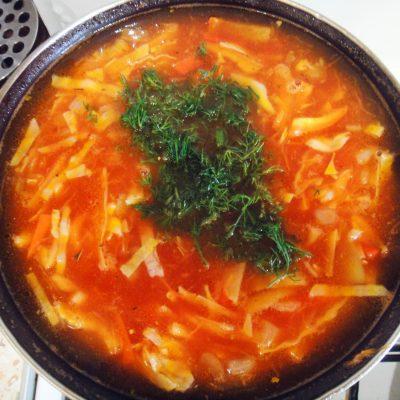 Постный красный борщ - рецепт с фото