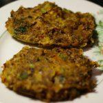 Кебаб из  картофеля и фасоли