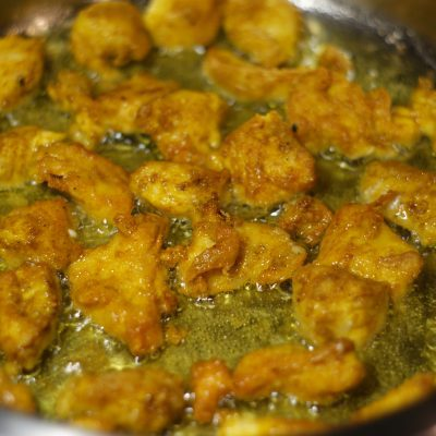Фото рецепта - Куриное филе в панировке из специй - шаг 4