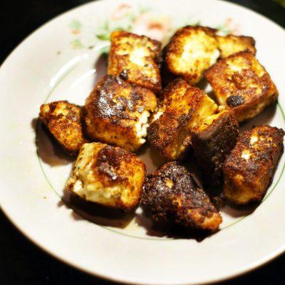Жаренный сыр панир - рецепт с фото