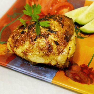 Жареные куриные бёдрышки - рецепт с фото