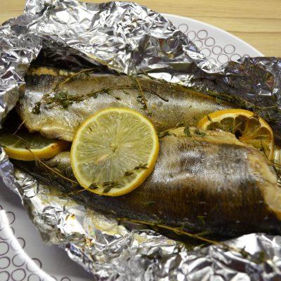 Рыба Терпуг, запеченная в фольге - рецепт с фото