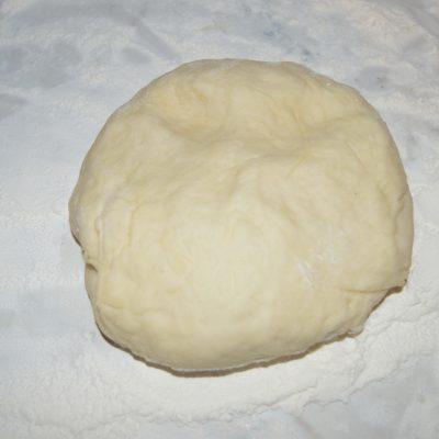 Фото рецепта - Постный пирог с квашеной капустой и грибами - шаг 7