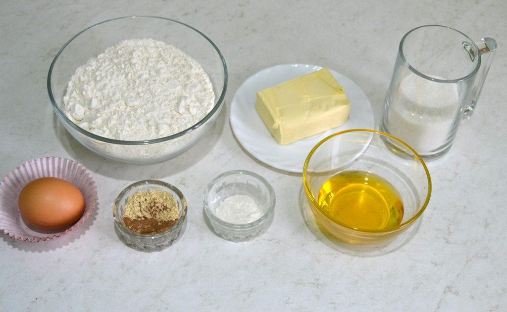 Фото рецепта - Имбирное печенье на масляном тесте - шаг 1