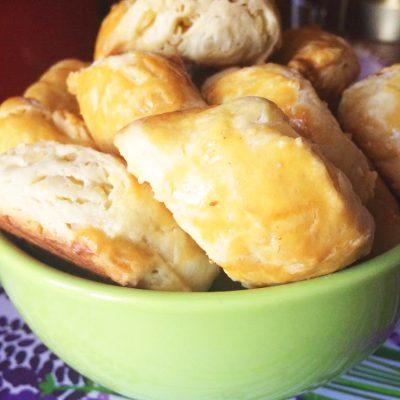 Бюджетное сырное печенье - рецепт с фото