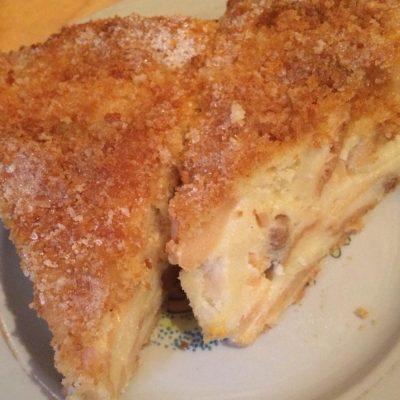 Крестьянский хлебный пирог с фруктами - рецепт с фото