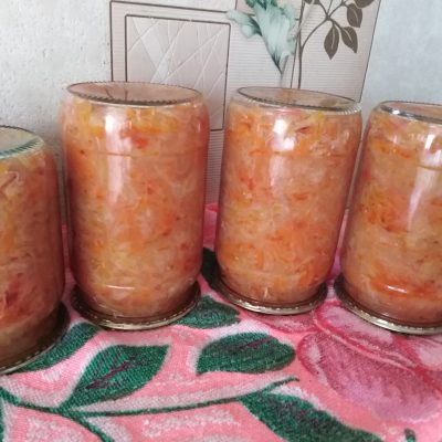 Салат — солянка на зиму - рецепт с фото