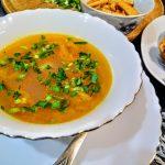 Гороховый суп с колбасой «Просто и вкусно»