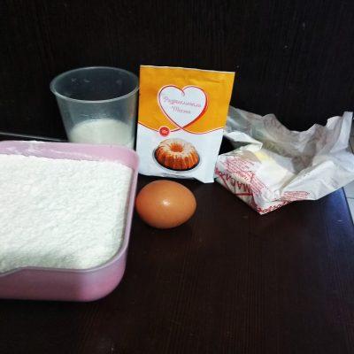 Фото рецепта - Рогалики с джемом - шаг 1