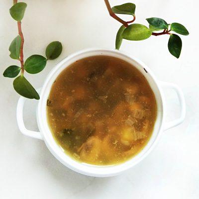 Грибной суп с вермишелью - рецепт с фото