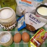 Фото рецепта - Шоколадный пирог на скорую руку - шаг 1