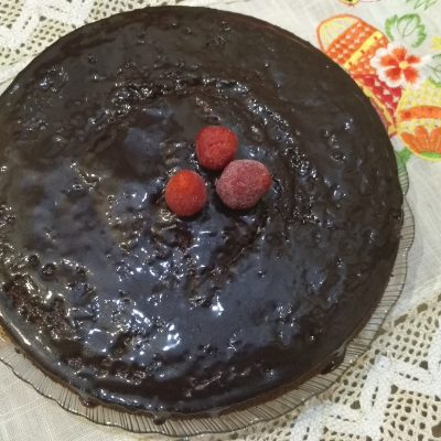 Шоколадный пирог на скорую руку - рецепт с фото