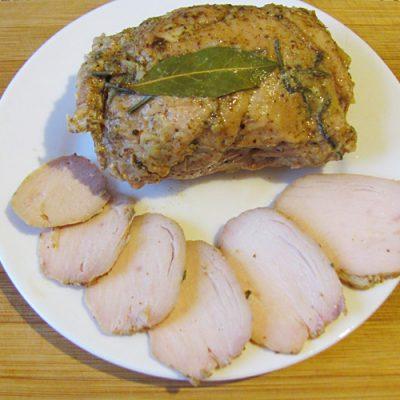 Куриная грудка в мультиварке или на пару, для бутербродов - рецепт с фото
