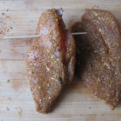 Фото рецепта - Сыровяленая куриная грудка - шаг 8