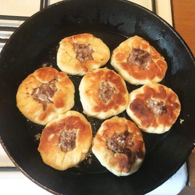 Чебуреки из косули - рецепт с фото