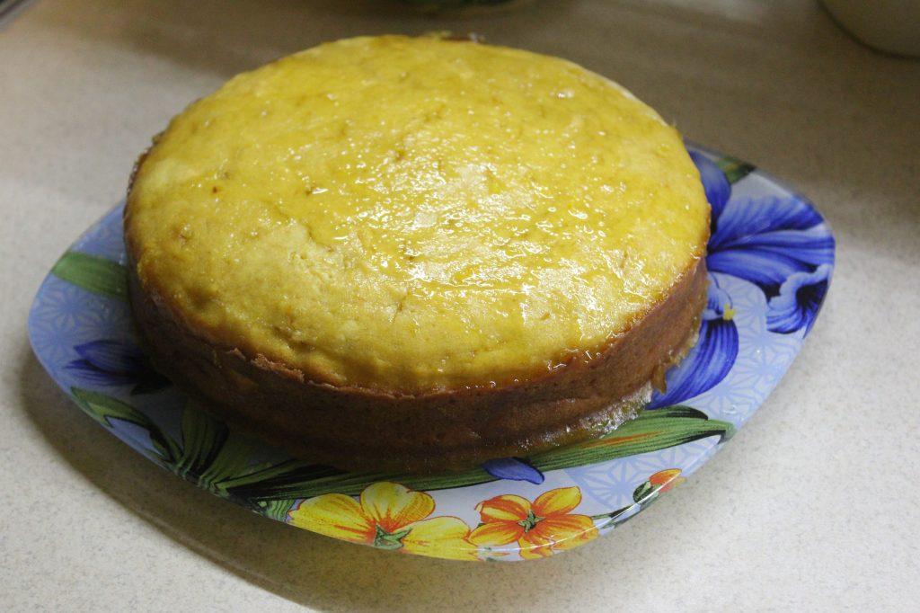 Фото рецепта - Тыквенный кекс с цитрусовой глазурью - шаг 12