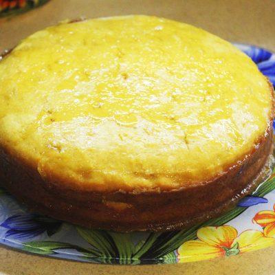 Тыквенный кекс с цитрусовой глазурью - рецепт с фото