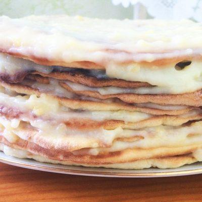 Заварной крем для торта - рецепт с фото
