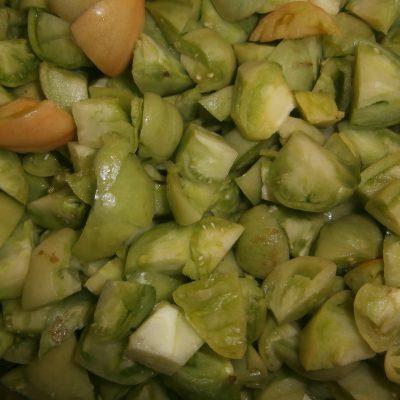 Фото рецепта - Варенье из зелёных помидоров «Чудесное сочетание» - шаг 1