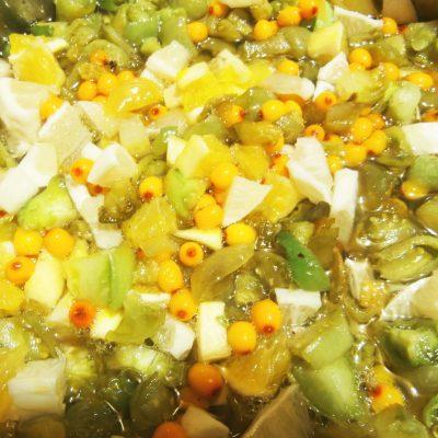 Варенье из зелёных помидоров «Чудесное сочетание» - рецепт с фото