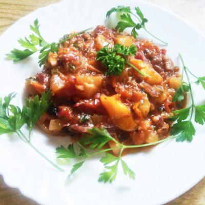 Теплый овощной салат «Осенний привет» - рецепт с фото
