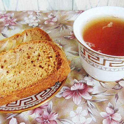 Яблочный кекс - рецепт с фото