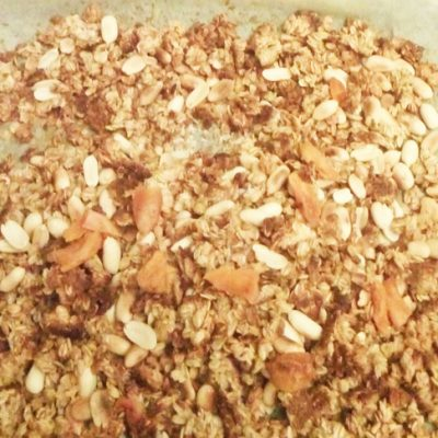 Домашняя ароматная гранола - рецепт с фото