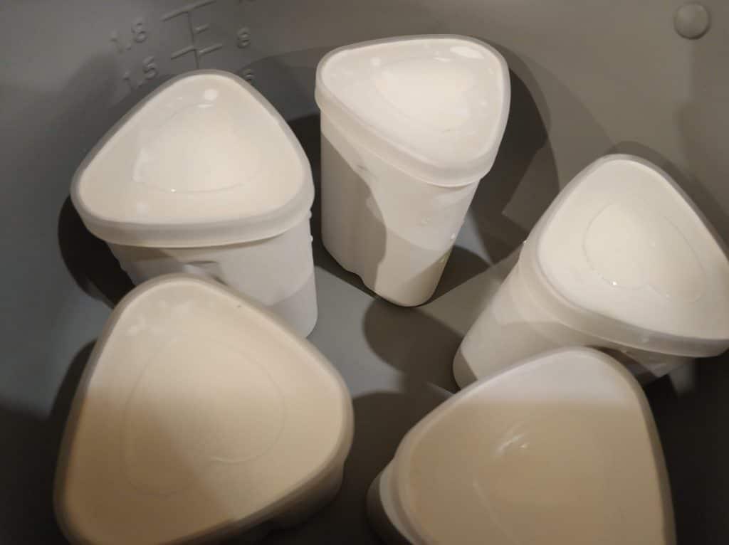 Фото рецепта - Густой йогурт в мультиварке - шаг 3