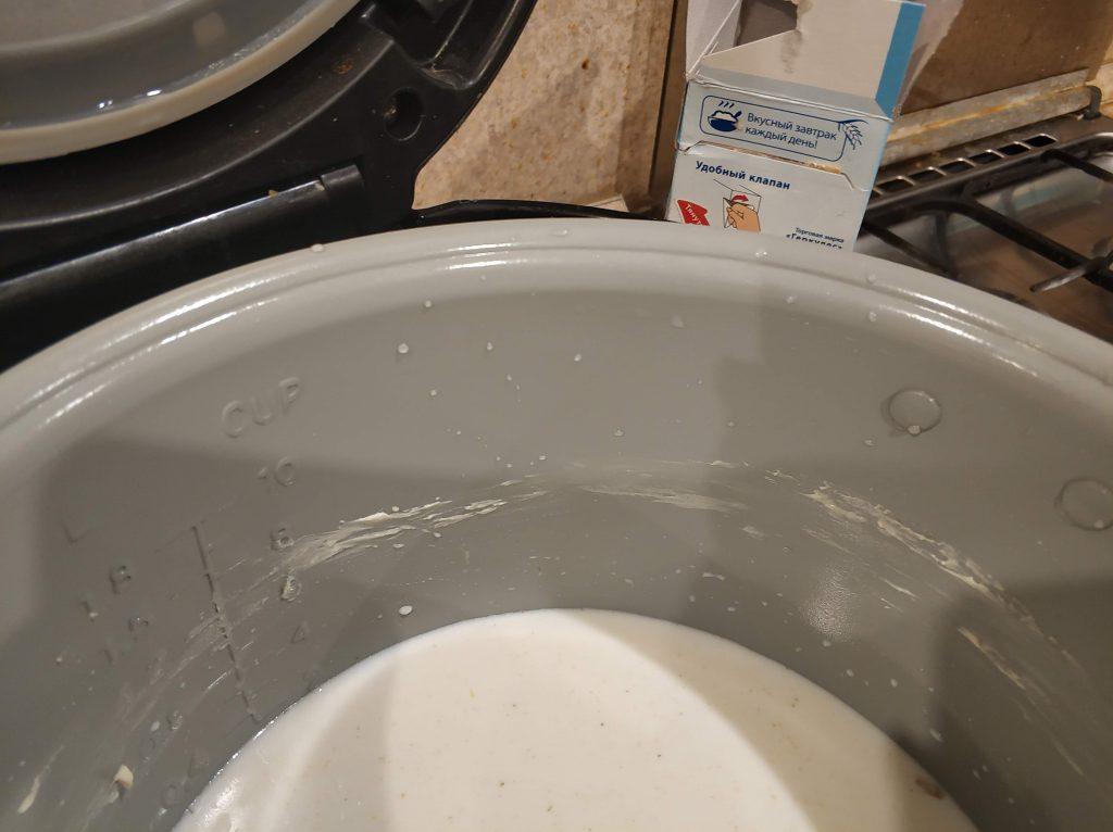 Фото рецепта - Овсяная каша на молоке - шаг 2