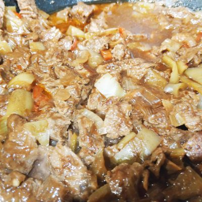 Говядина, тушенная в пиве - рецепт с фото