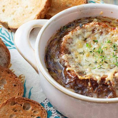 Луковый суп с остринкой - рецепт с фото
