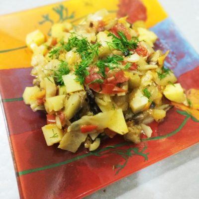 Овощное соте - рецепт с фото