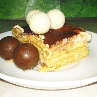 Торт без выпечки: «А ля Тирамису» - рецепт с фото