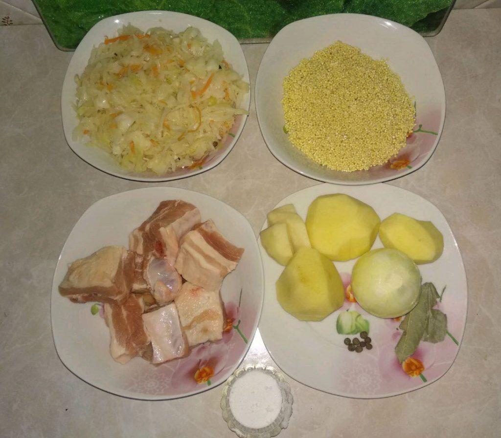 Фото рецепта - Капустняк с квашеной капустой (щи) - шаг 1